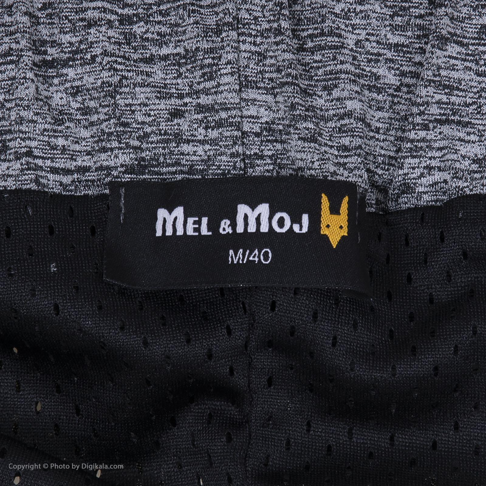 شورت ورزشی مردانه مل اند موژ مدل m06316-905 -  - 6