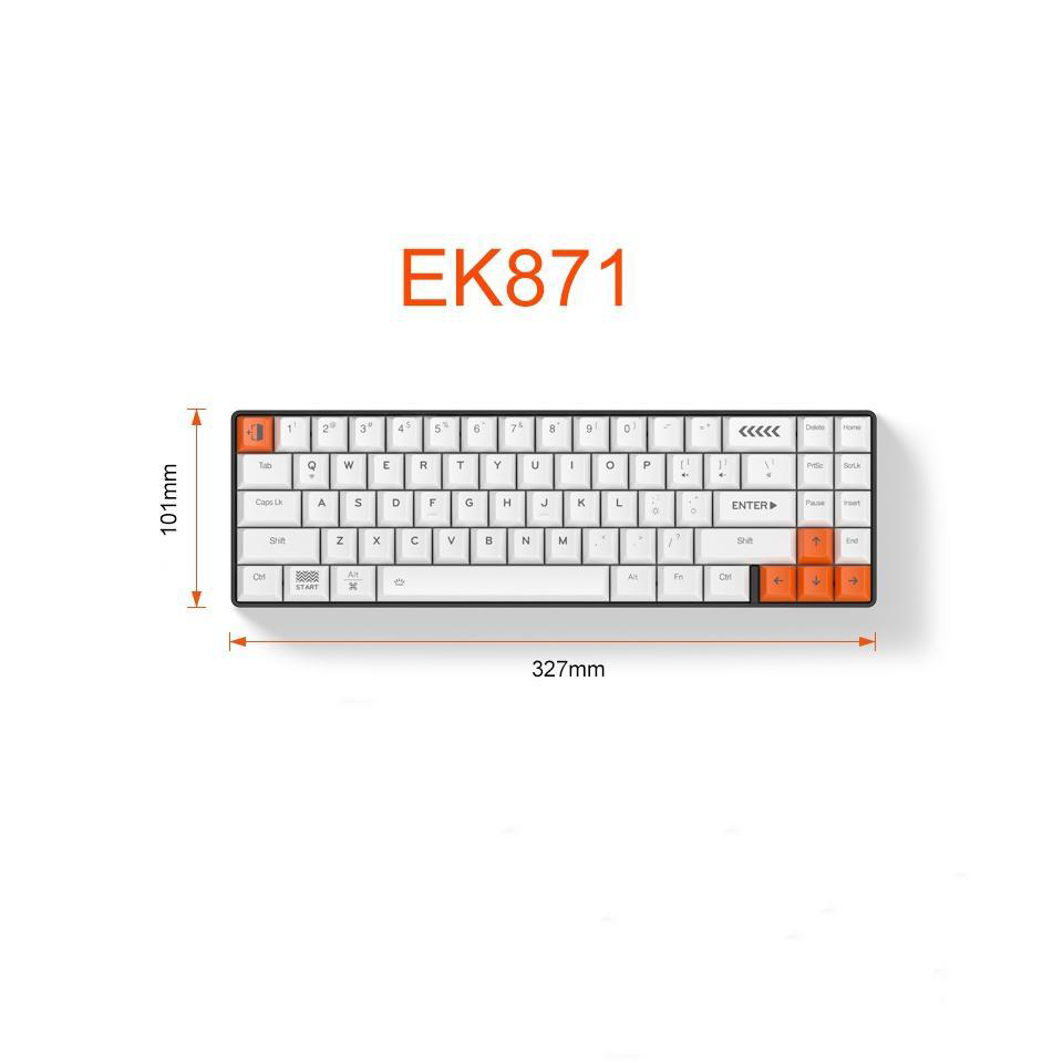 کیبورد داریو مدل EK871