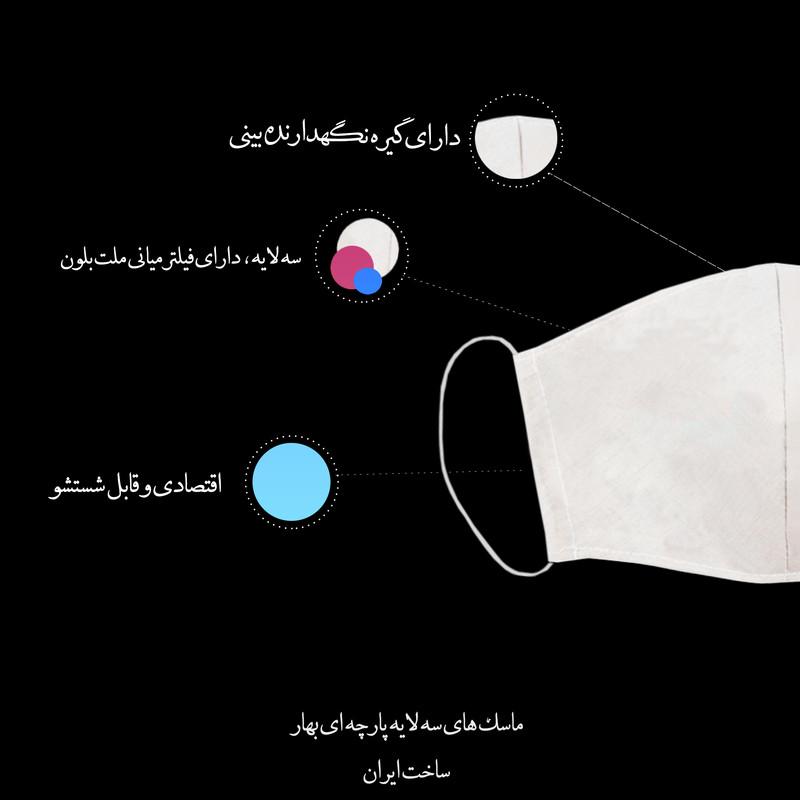 ماسک تزیینی کد 032