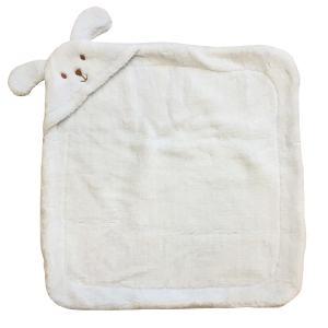 پتو نوزاد مدل خرگوشی سایز 80x80 سانتیمتر