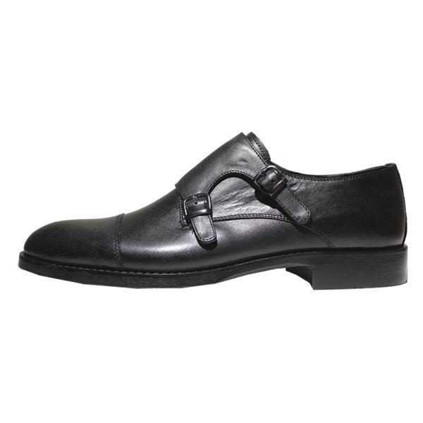 کفش مردانه چرم آرا مدل sh026 کد ms