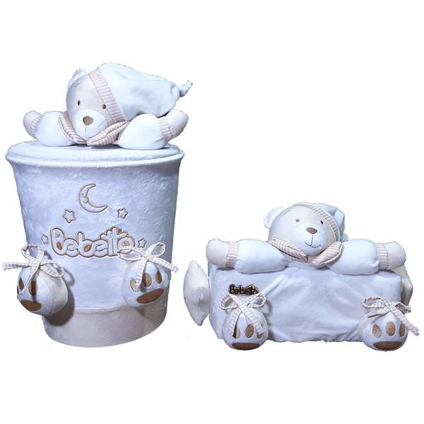 کاور دستمال کاغذی و سطل کودک طرح خرس نانان