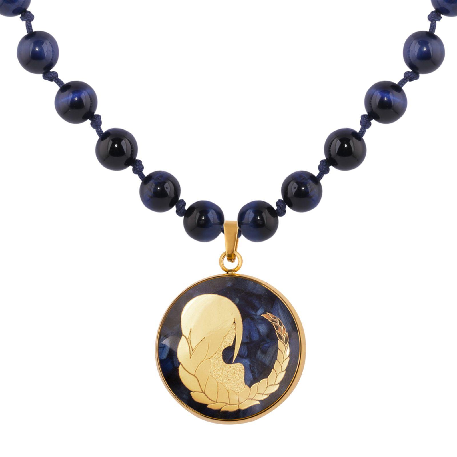 گردنبند زنانه الون طرح نماد ماه شهریور  کد TIG102 -  - 5
