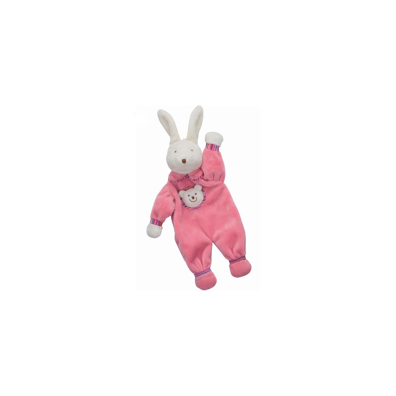 عروسک خرگوش پارچه ای سایز 3 جلی کت کد PJS444BN