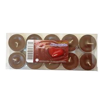 شمع وارمر مدل Chocolate بسته 10 عددی