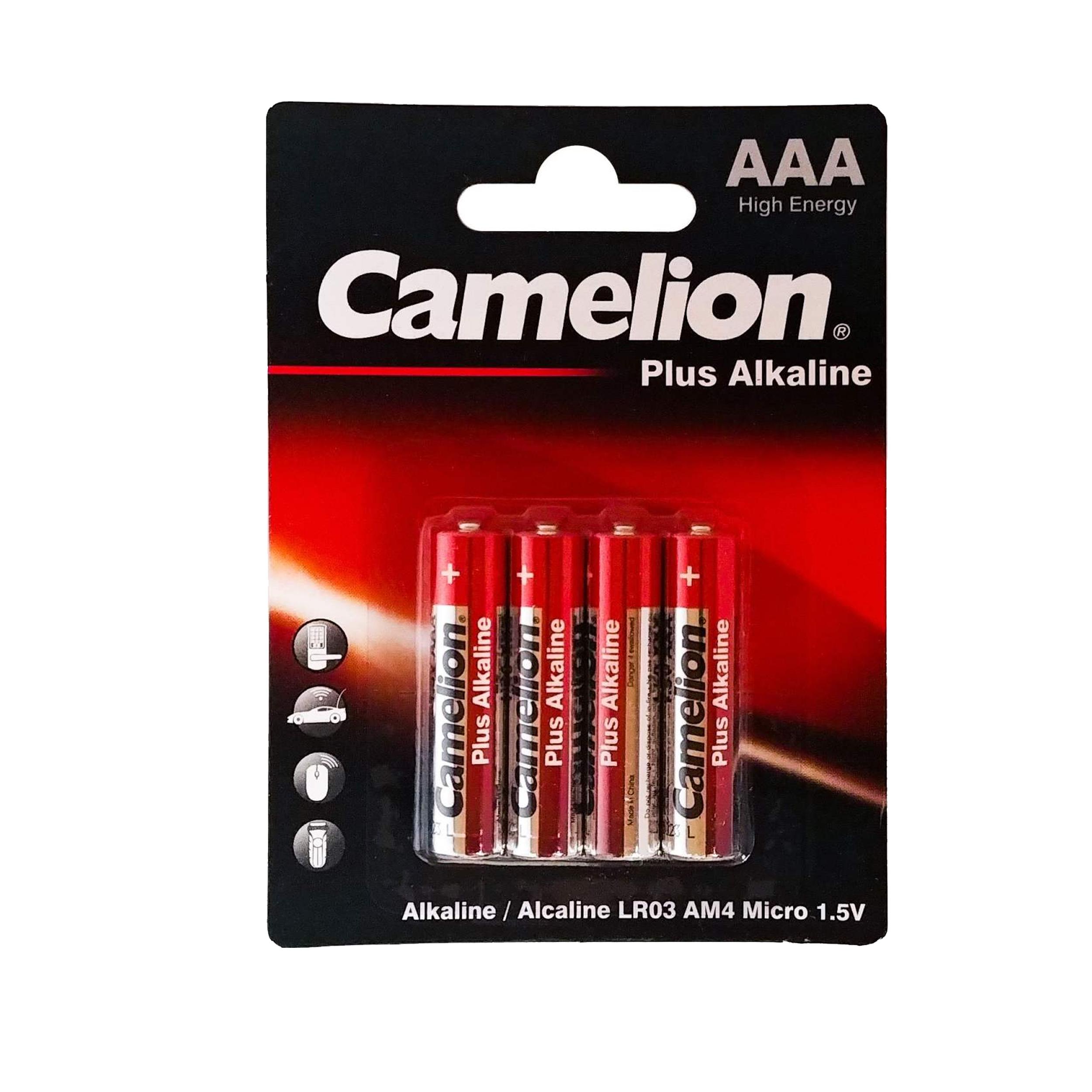 باتری قلم و نیم قلمی کملیون مدل Plus Alkaline محموعه 8 عددی main 1 3