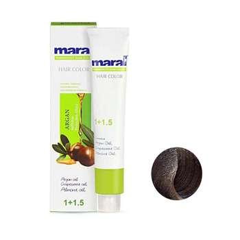 رنگ مو مارال شماره 4.8 حجم 100 میلی لیتر رنگ قهوه ای شکلاتی متوسط