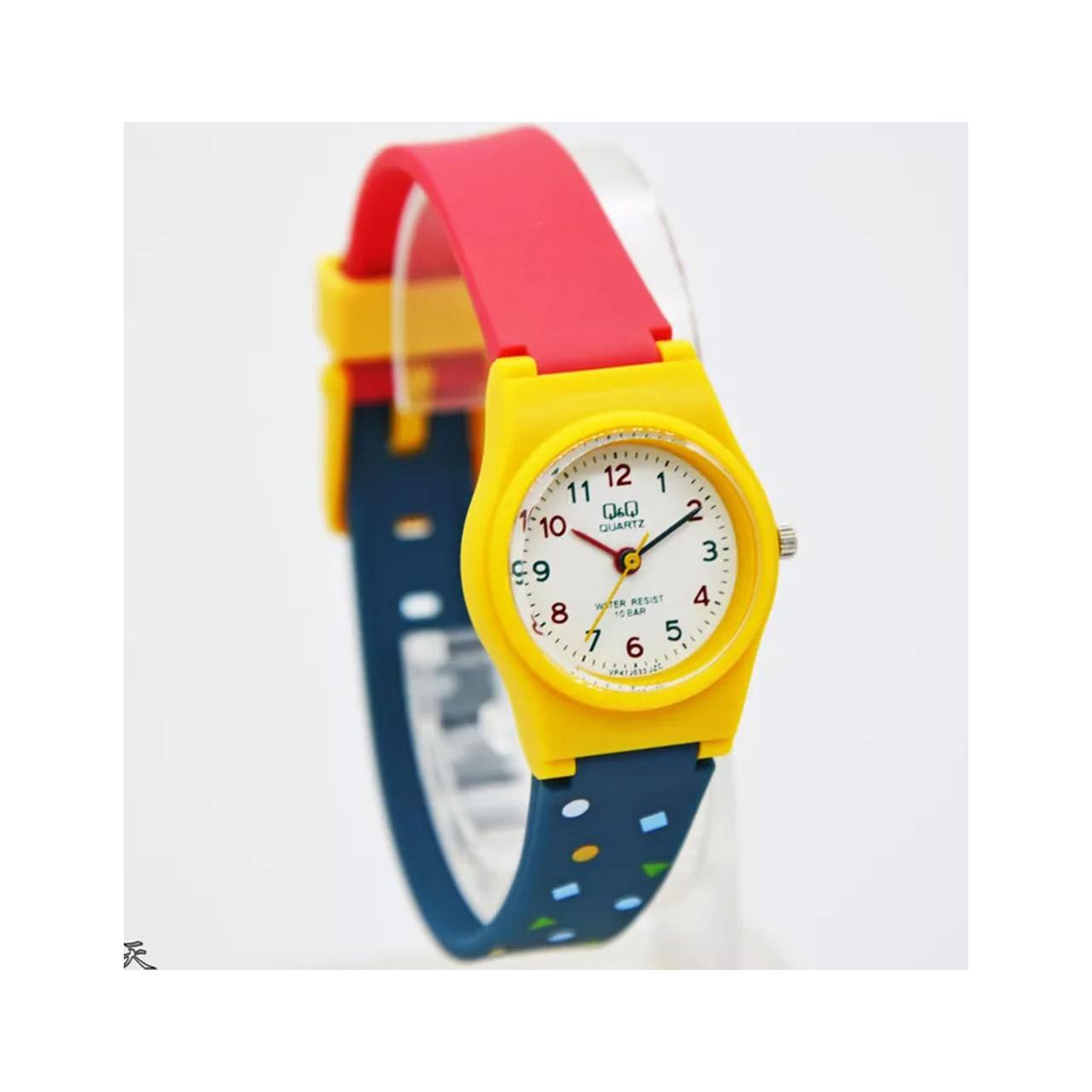خرید و قیمت                      ساعت مچی  زنانه کیو اند کیو مدل VP47J033Y