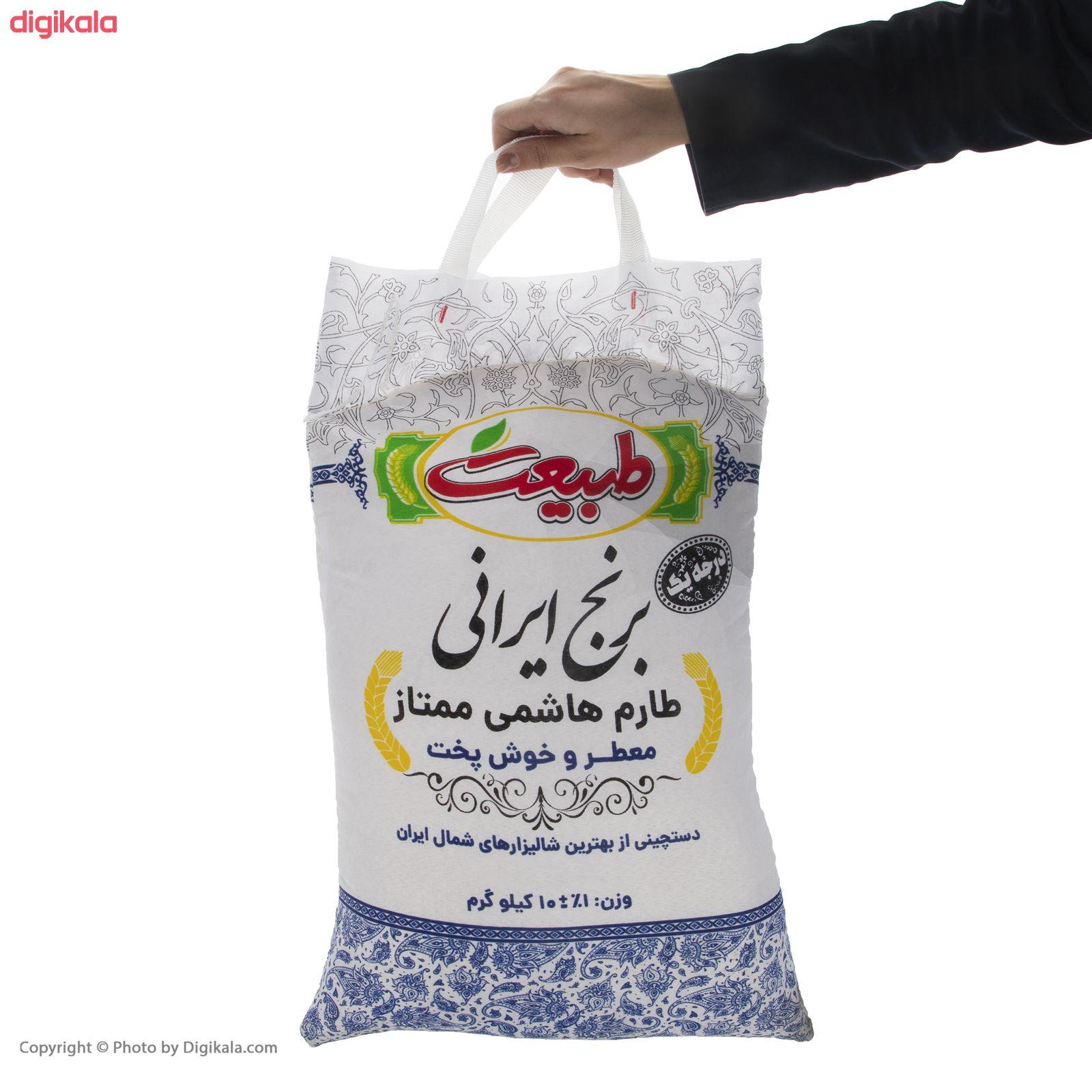 برنج طارم هاشمی ممتاز طبیعت - 10 کیلوگرم main 1 3