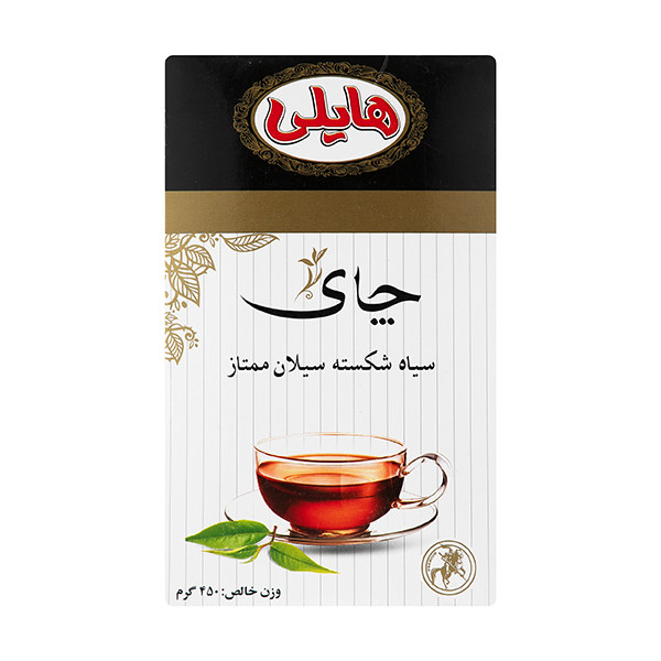 چای سیاه شکسته سیلان ممتاز هایلی - 450 گرم