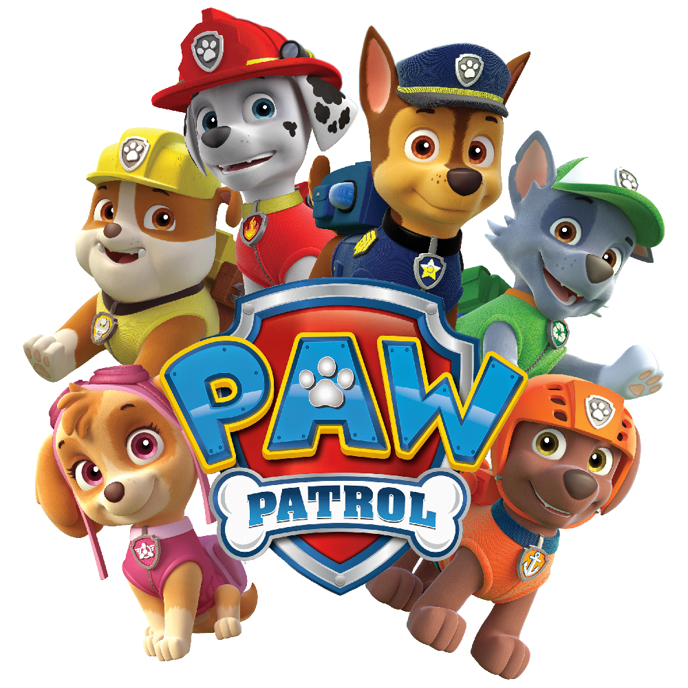 استیکر فراگراف FG طرح سگ های نگهبان کد paw patrol 013