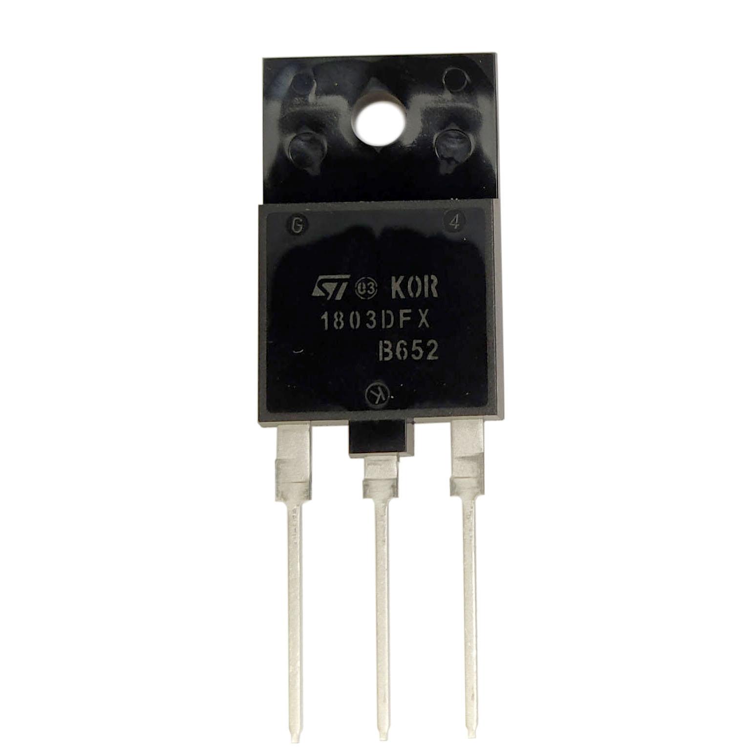 ترانزیستور اس تی کد  1803DFX بسته 4 عددی