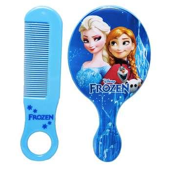 ست شانه مو و آینه آرایشی مدل فرزون کد 5