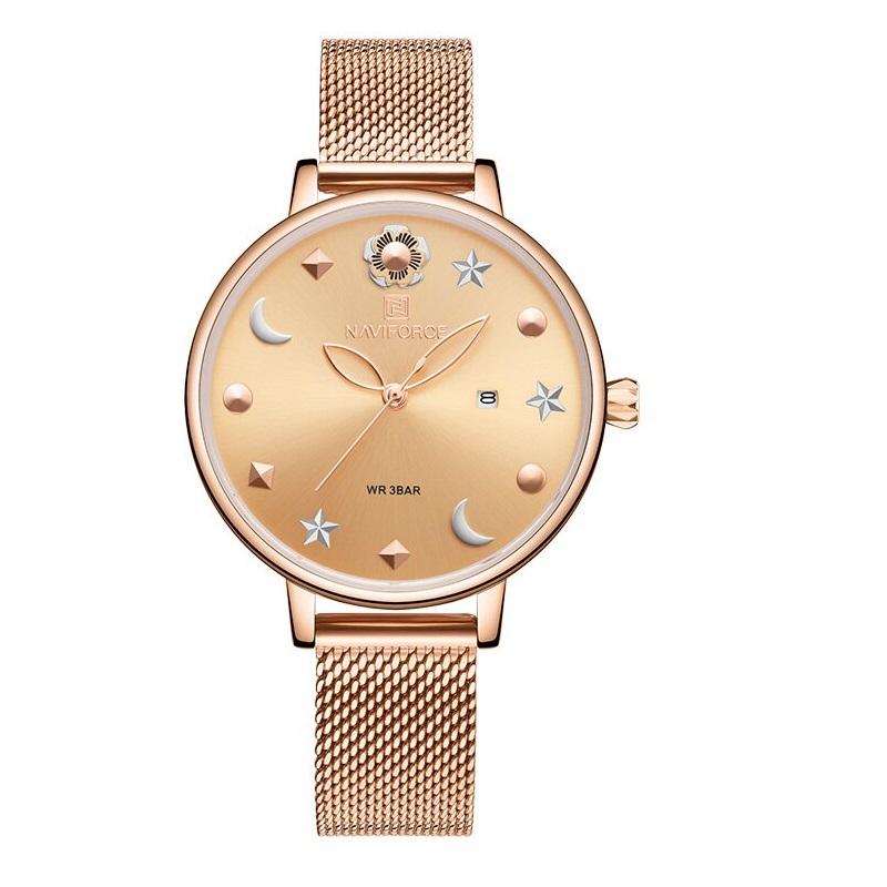 ساعت مچی عقربه ای زنانه نیوی فورس مدل NF5009L -RG-RG               ارزان