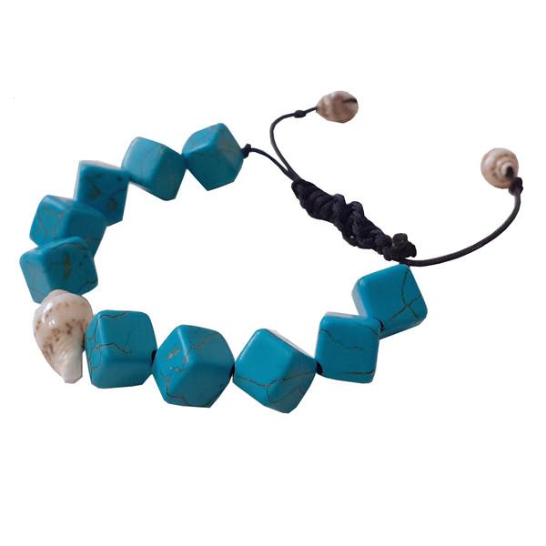 دستبند دخترانه مدل گوش ماهی