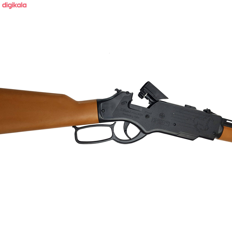 تفنگ بازی گلدن گان مدل naabsell-p100 مجموعه 4 عددی main 1 2