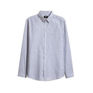 پیراهن آستین بلند مردانه اچ اند ام مدل 00495