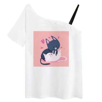 تی شرت آستین کوتاه زنانه مدل RR991106-004