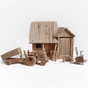 ماکت چوبی مدل HWD-02