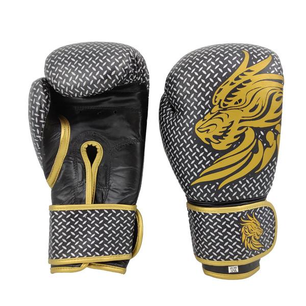 دستکش بوکس مدل Gold Dragon