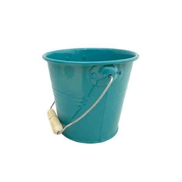 گلدان دکوری مدل سطل فلزی کد 103