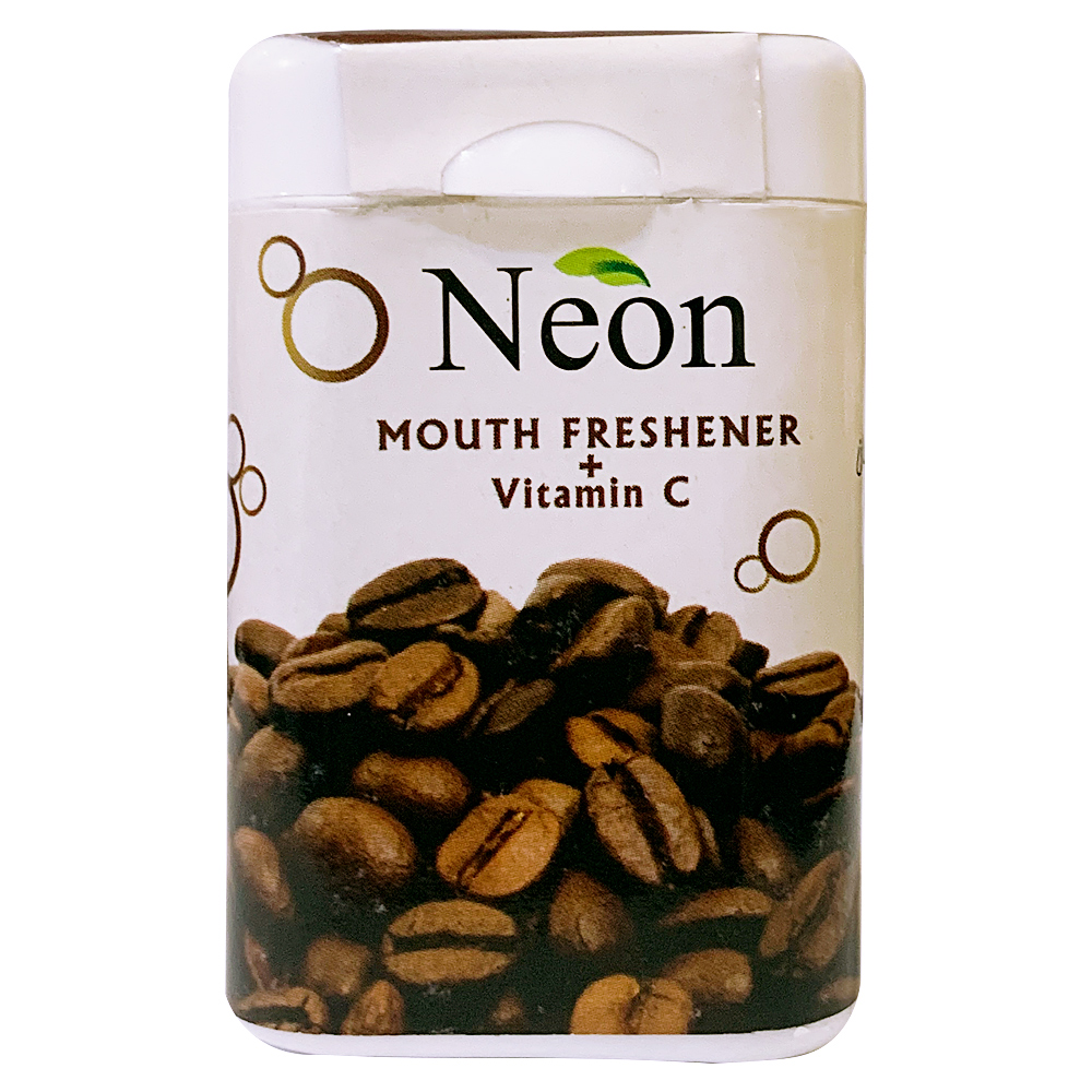 قرص خوشبو کننده دهان نئون با طعم قهوه - 15 گرم