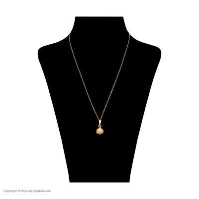 گردنبند طلا 18 عیار زنانه مدل AZ-09
