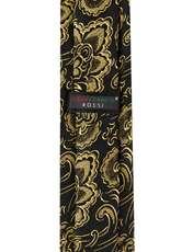 ست کراوات و دستمال جیب و گل کت مردانه جیان فرانکو روسی مدل GF-F922-DB -  - 4