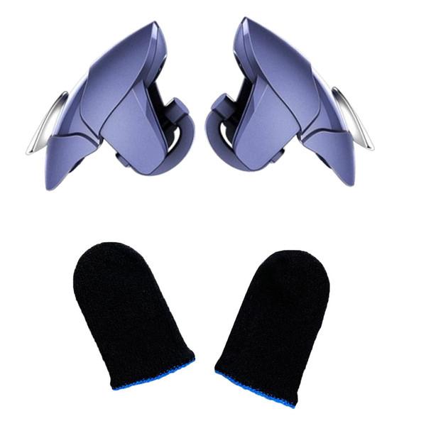 دسته بازی مدل Blue Shark به همراه آستین کنترل کننده انگشت
