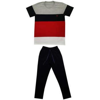 ست تی شرت و شلوار مردانه مدل هیراد کد 7176
