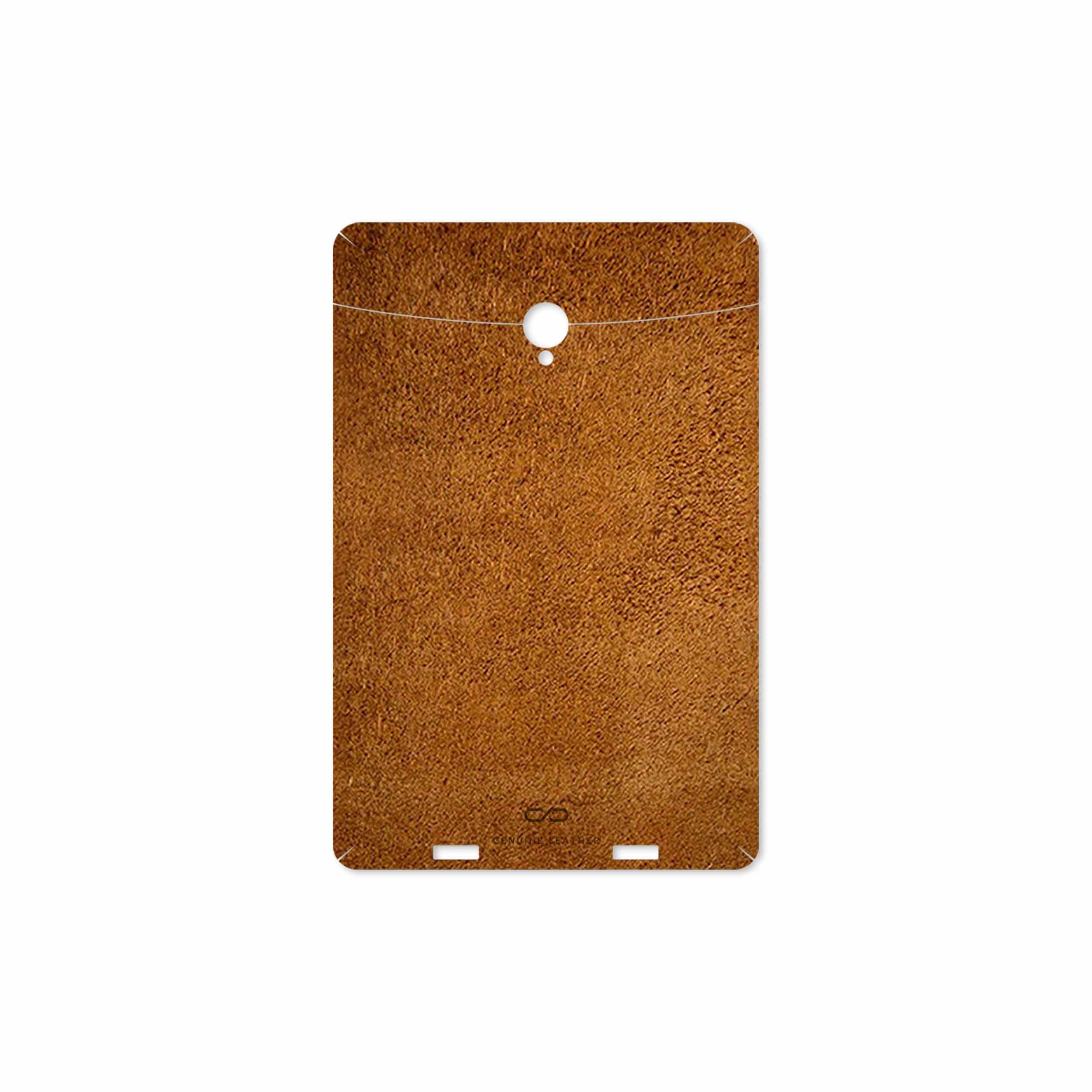 بررسی و خرید [با تخفیف]                                     برچسب پوششی ماهوت مدل Brown-Chamois-Leather مناسب برای تبلت وریکو Unipad                             اورجینال
