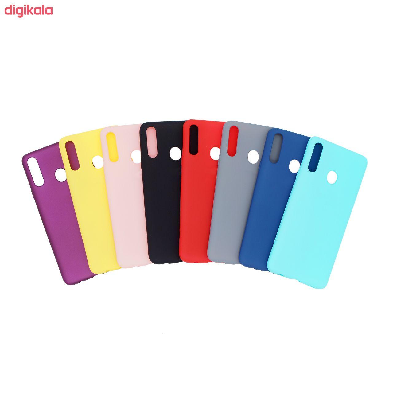کاور موناکو مدل Sn200 مناسب برای گوشی موبایل سامسونگ Galaxy A20s به همراه 3 عدد محافظ صفحه نمایش