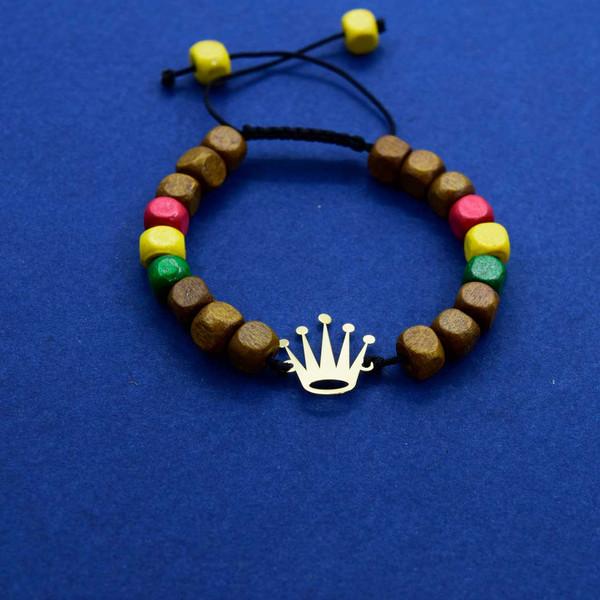 دستبند طلا 18 عیار زنانه کانیار گالری مدل B57