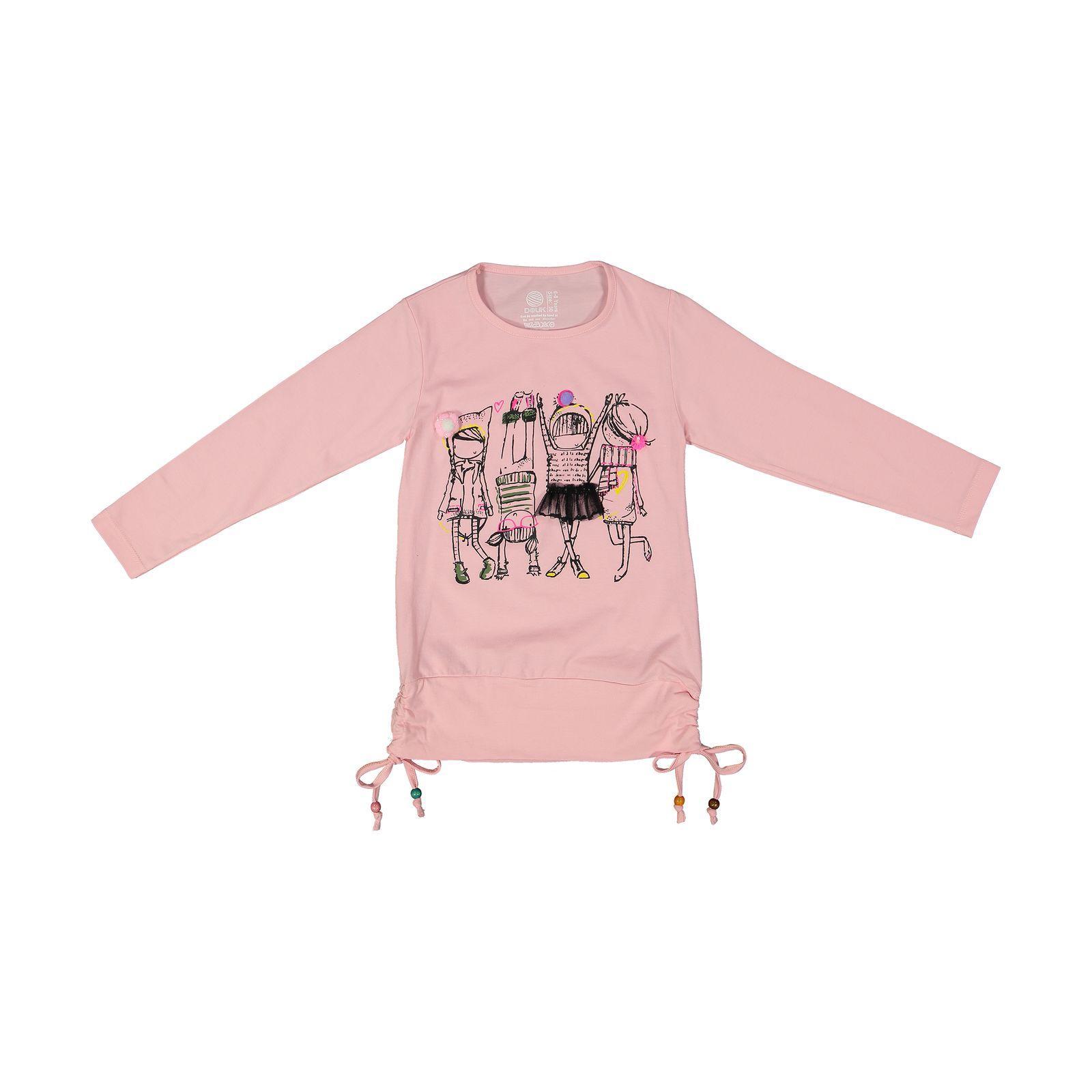 تی شرت دخترانه سون پون مدل 1391356-84 -  - 2
