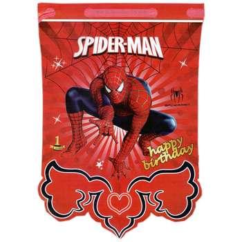 ریسه تزیینی مدل مرد عنکبوتی بسته 12 عددی