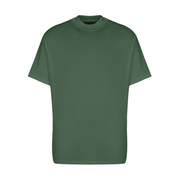 تیشرت آستین کوتاه مردانه گری مدل H37
