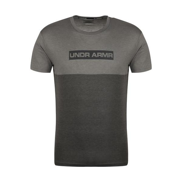 تیشرت آستین کوتاه مردانه آندر آرمور مدل 2784101GRY