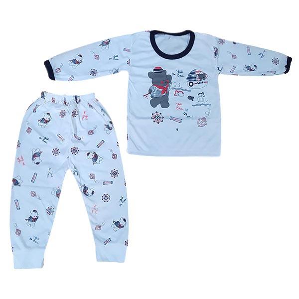 ست تی شرت و شلوار بچگانه مدل ملوان