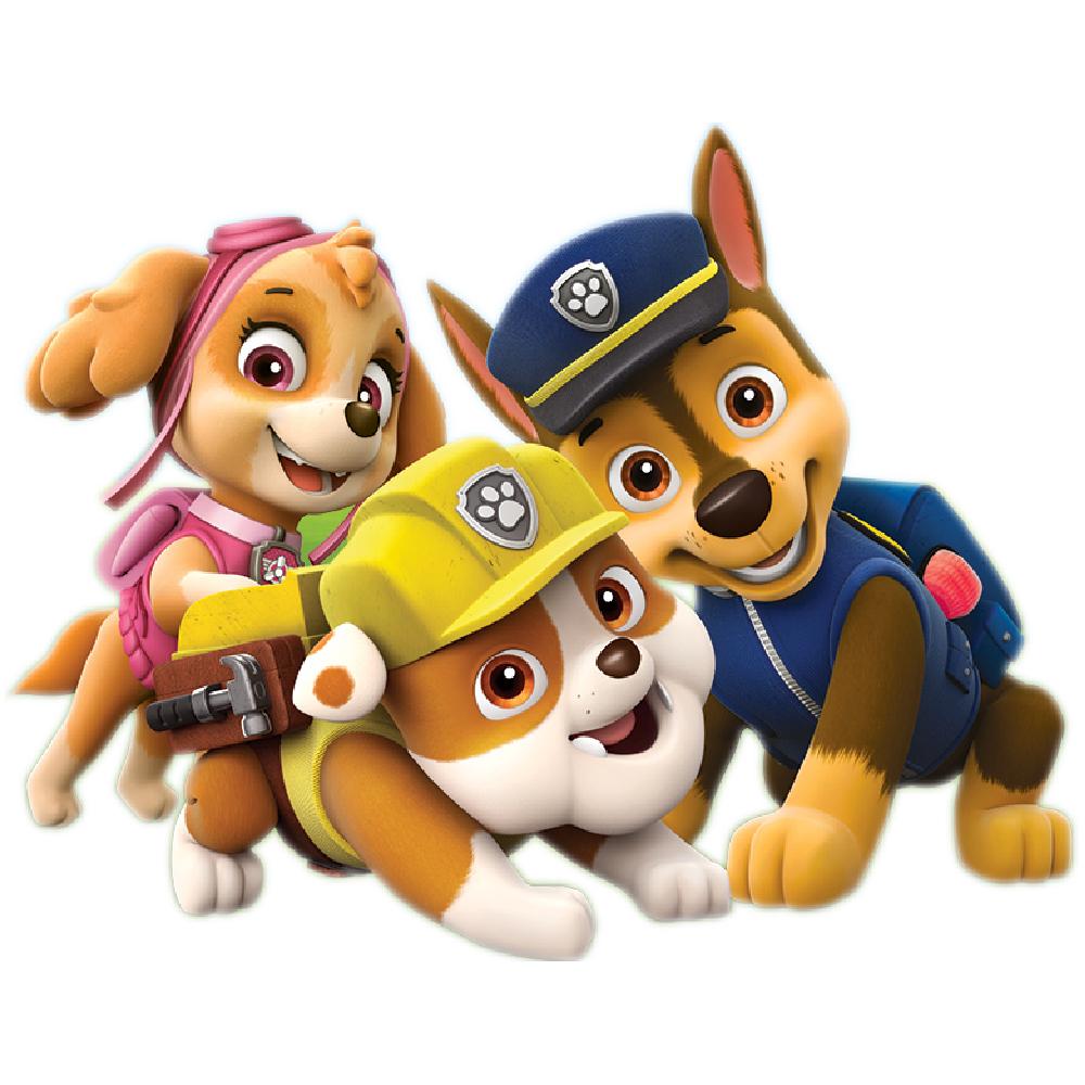 استیکر فراگراف FG طرح سگ های نگهبان کد paw patrol 018