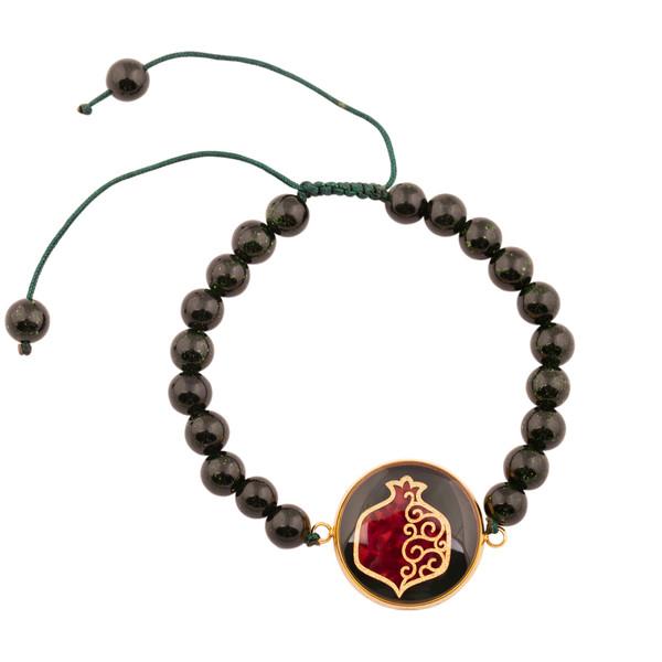 دستبند زنانه الون طرح انار کد DEL102