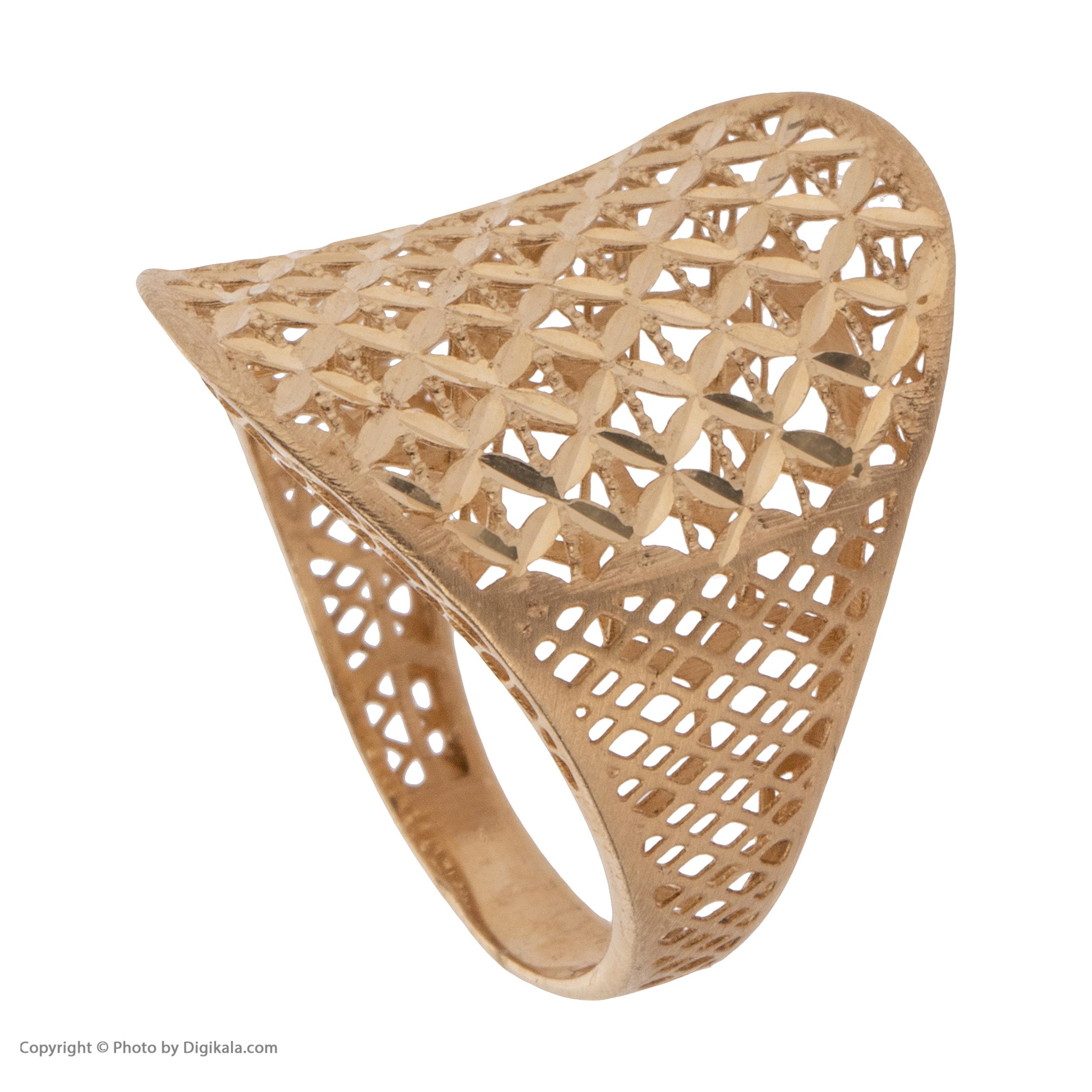 انگشتر طلا 18 عیار زنانه مایا ماهک مدل MR0377 -  - 4