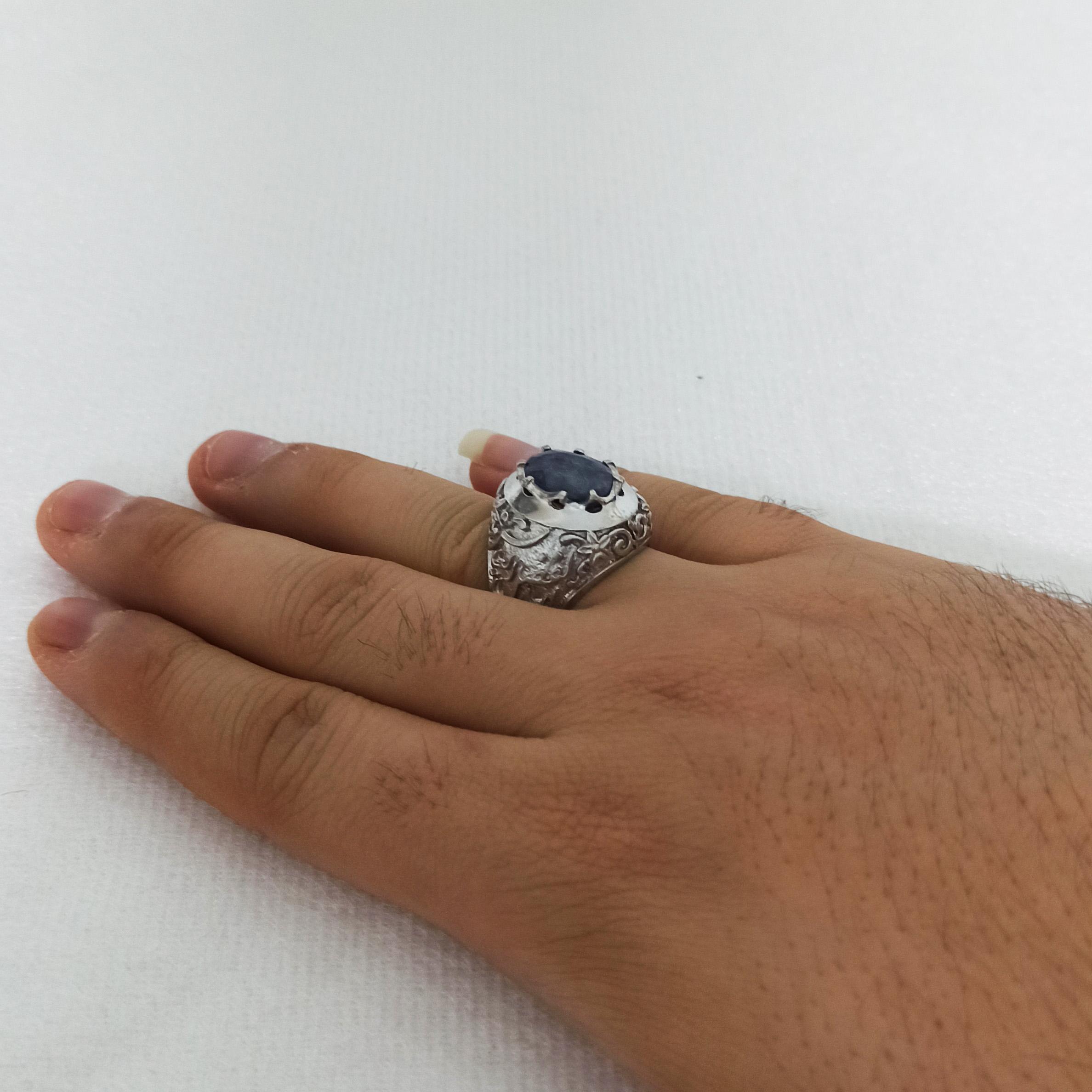 انگشتر نقره مردانه سلین کالا مدل ce-anma14