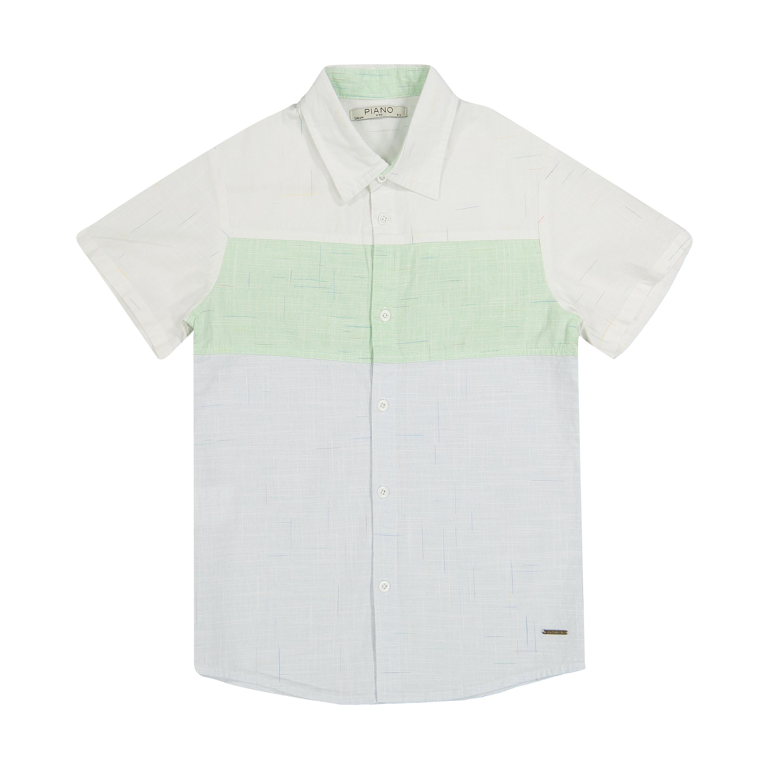 پیراهن پسرانه پیانو مدل 01541-1