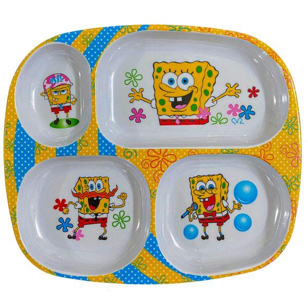 ظرف غذای کودک مدل باب اسفنجی کد FZ-01