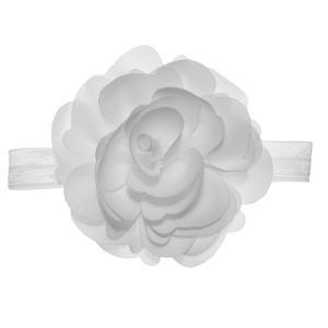 هدبند نوزادی سارینا گل مدل نیکا رنگ سفید