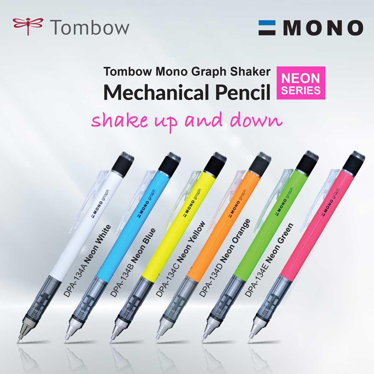 مداد نوکی 0.5 میلی متری تومبو مدل MONO GRAPPH main 1 15