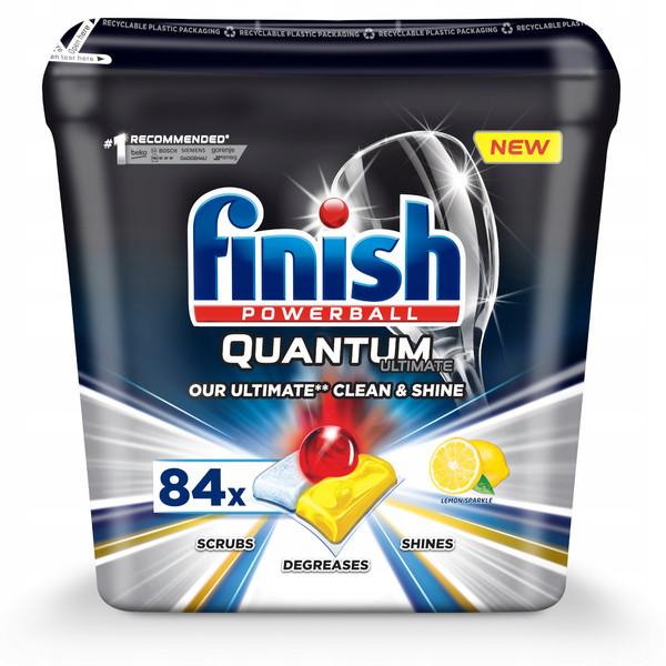 قرص ماشین ظرفشویی فینیش مدل Quantum Ultimate بسته 84 عددی