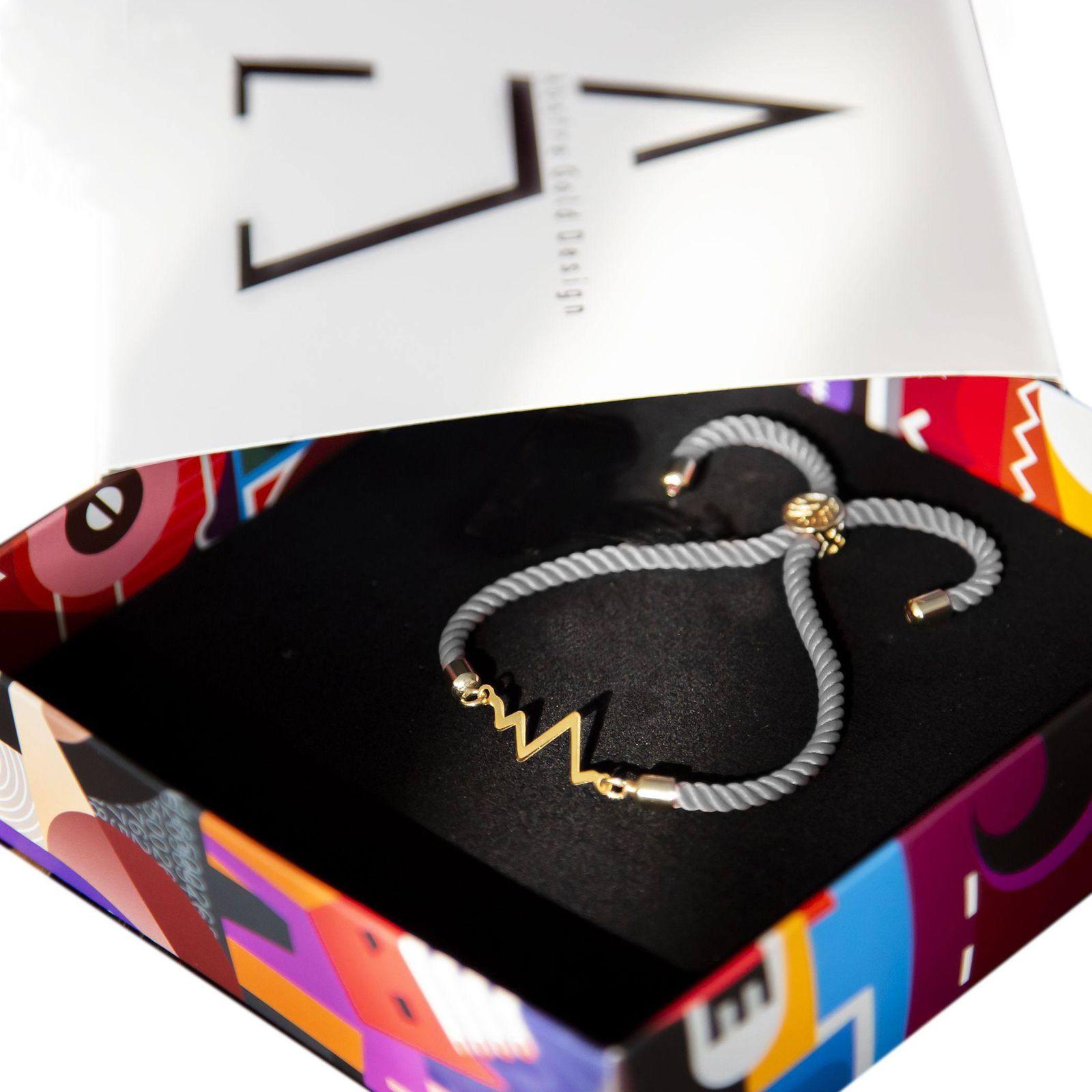 دستبند نقره زنانه آبستره مدل DZG-01 -  - 4