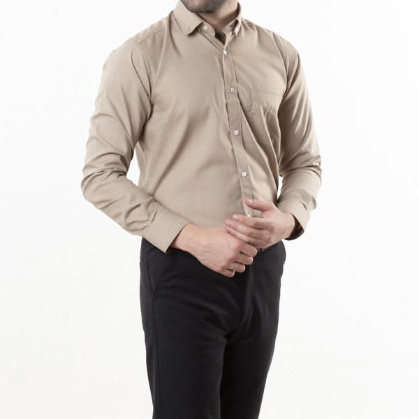 پیراهن آستین بلند مردانه زی سا مدل 153140527