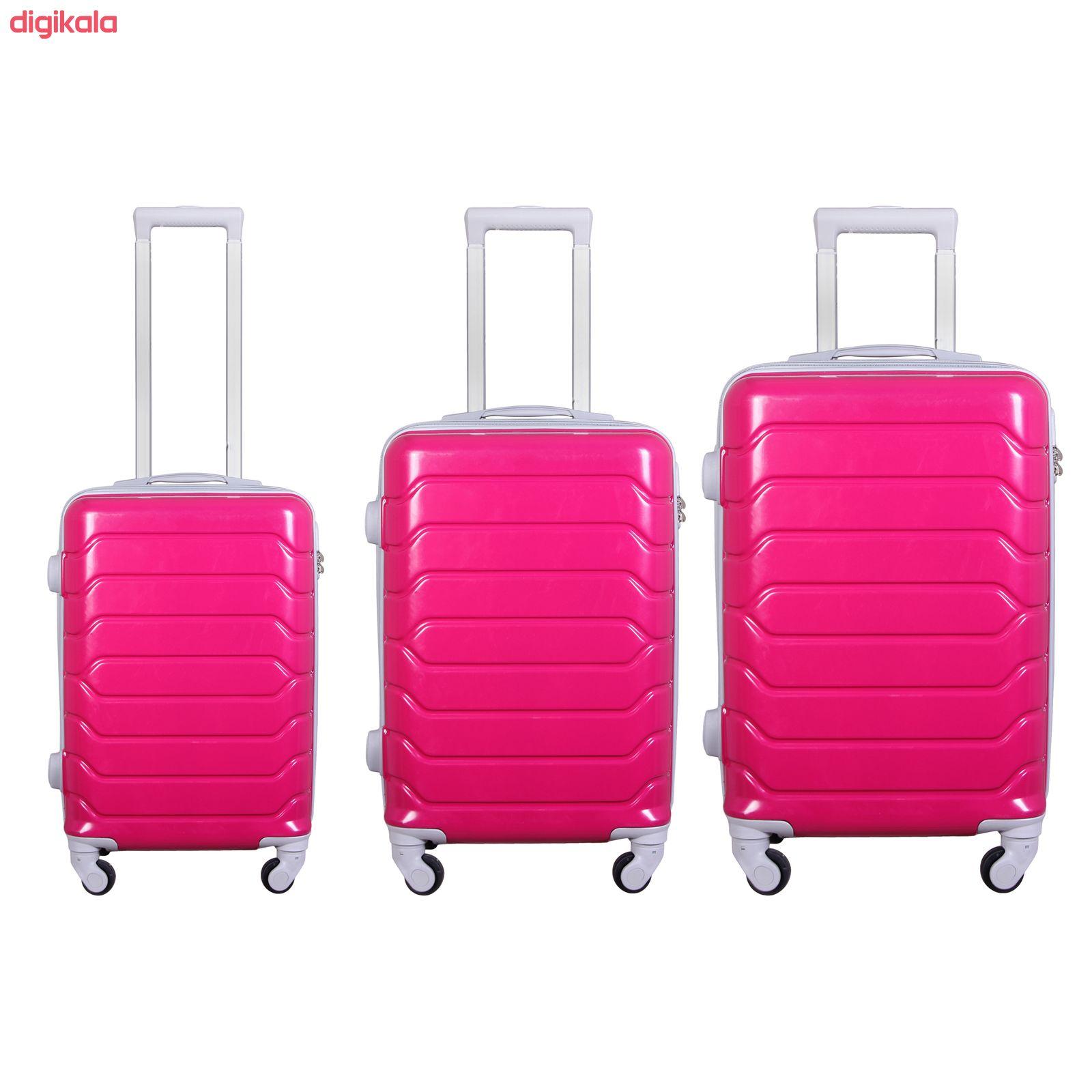 مجموعه سه عددی چمدان مدل 10021 main 1 32